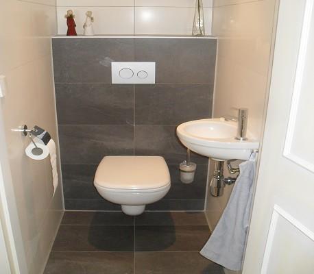 Toilet op beneden verdieping