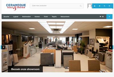 Nieuwe website Ceramique Tegels & Sanitair Haaksbergen