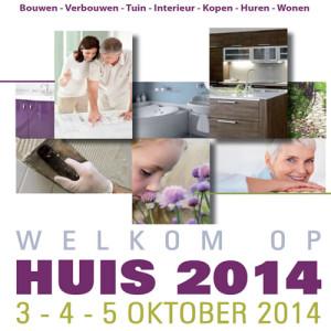Beurs HUIS op 3 - 4 - 5 Oktober 2014