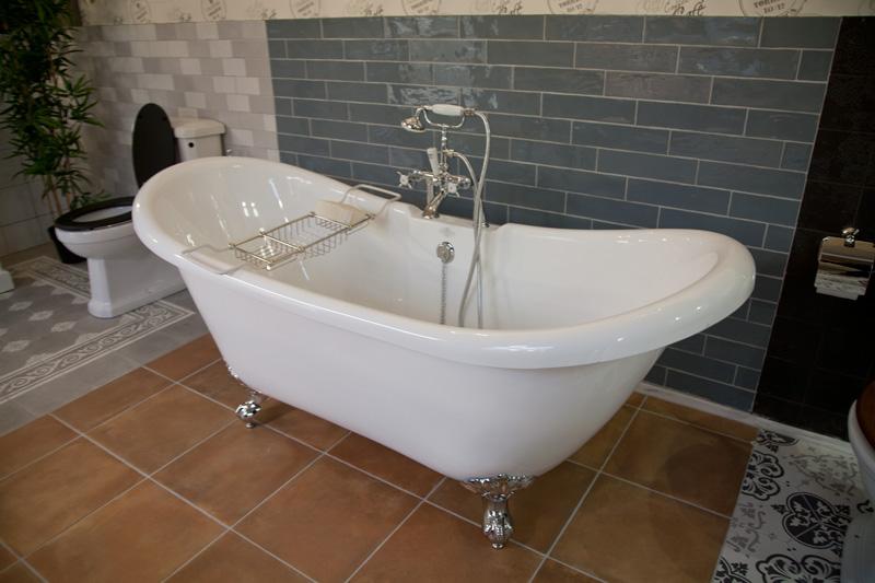 Badkamer Romeinse Stijl : Baden in engelse stijl