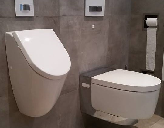Toilet aanpassing
