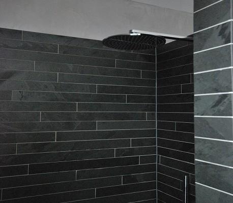 Badkamer nieuwe douche