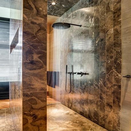 Badkamer renovatie douche