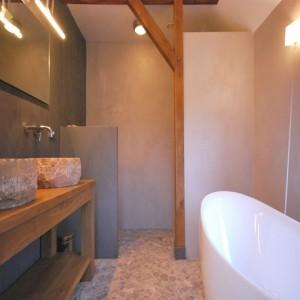 Badkamerrenovatie landelijke badkamer