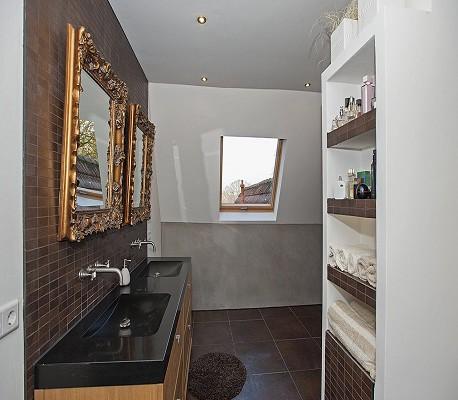 Nieuwe luxe badkamer