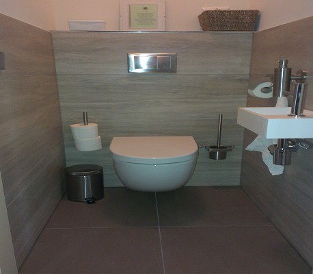 Toilet realisatie