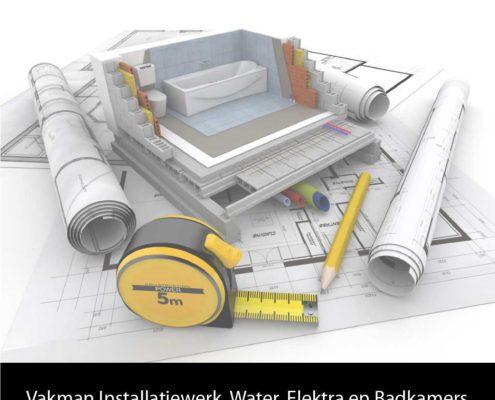 Vacature Installatiewerk, water, elektra en badkamers